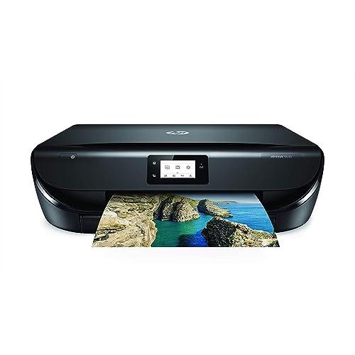 HP Envy 5030 Impresora Multifunción Inalámbrica Tinta Wi Fi Copiar Escanear 1200 x 1200 PPP Modo Silencioso Incluido 3 Meses de HP Instant Ink Color Negro
