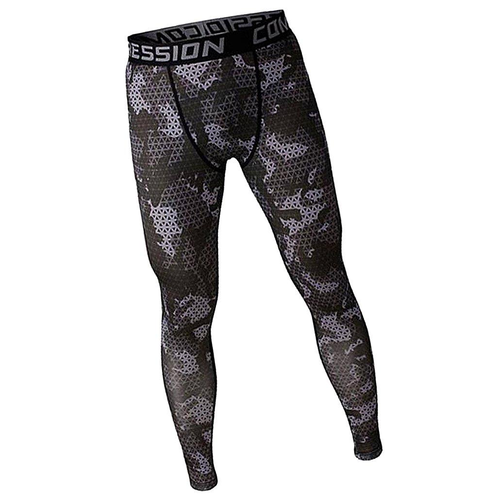 Generic Mens Sport Yoga GYM Fitness Jogging Pant Tight Trousers Leggings