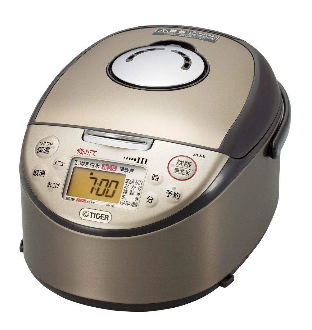 TIGER IH炊飯ジャー 炊きたて (5.5合炊き) ブラウン  JKJ-V100-T B008GM9OEW