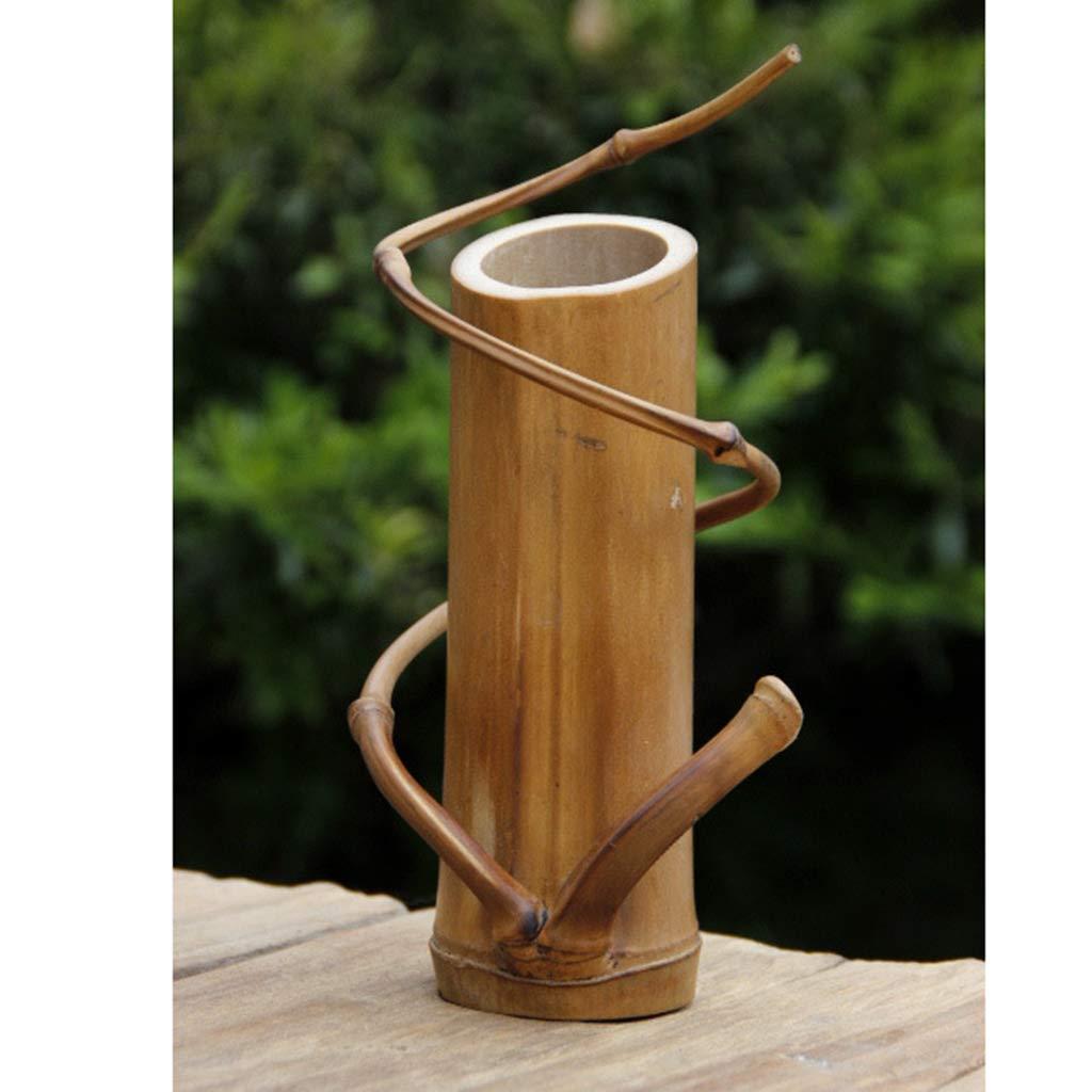 Jarrón de Bambú para Flores