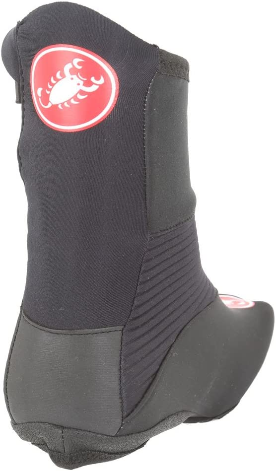 Castelli NARCISISTA 2 Winter Shoe Covers Windstopper Cycling Booties BLACK