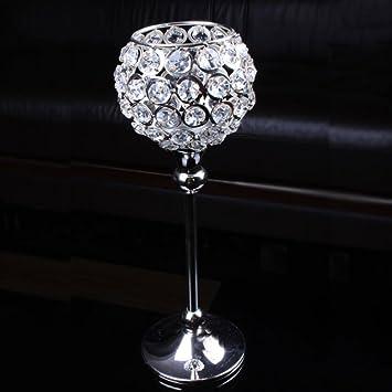 Amazonde Baichen Moderne Kristall Weingläser Laterne Kerze