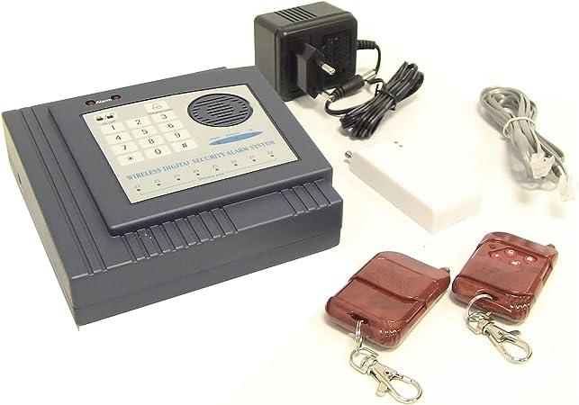 BeMatik.com Alarma para teléfono Fijo con Teclado B: Amazon ...