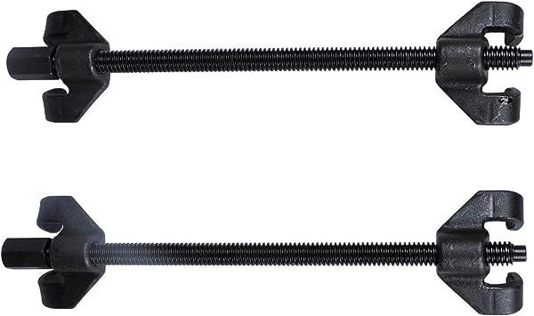Sailun 2 Tlg Feder Spanner Montagespanner Feder Druckregler Tuning Tieferlegung 4 Krallen Spanner Feders Kit Spannweite Bis 370mm Für Tieferlegungs Federn Fahrwerk Baumarkt