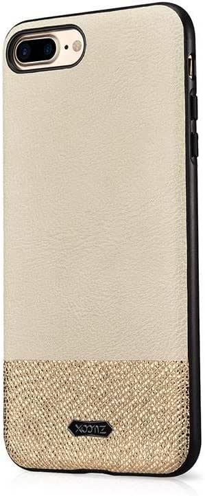 كفر ايفون 7 بلس ،8 بلس سبلينغ اليغانت جلد بيج من شركة اكسومز