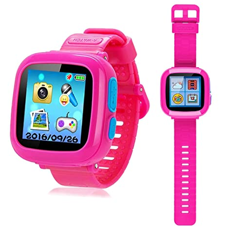 YNCTE Juego Smart Watch para niños con cámara Digital Juegos Pantalla táctil, Cool Toys Reloj