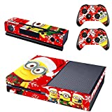 GOOOD XBox One Designer Skin Decal for XBox One Console System and XBox One Wireless Dualshock Controller - Merry Christmas - Beedo