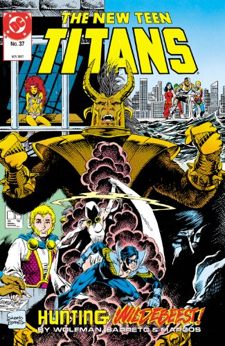 The New Teen Titans (1980-) #37