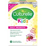 Culturelle Kids Daily Probiotic Chewable Dietary Supplement | Helps Support Kids' Immune & Digestive Systems | For Children Age 3+ | #1 Pediatrician Recommended Brand††† | 30 Chewables