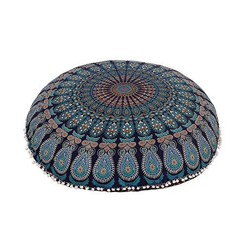Mandala ART Bohemian Yoga Decor Floor Cushion Cover - 32