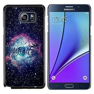 Stuss Case / Funda Carcasa protectora - Infinity Espacio Awe Inspiring - Samsung Galaxy Note 5