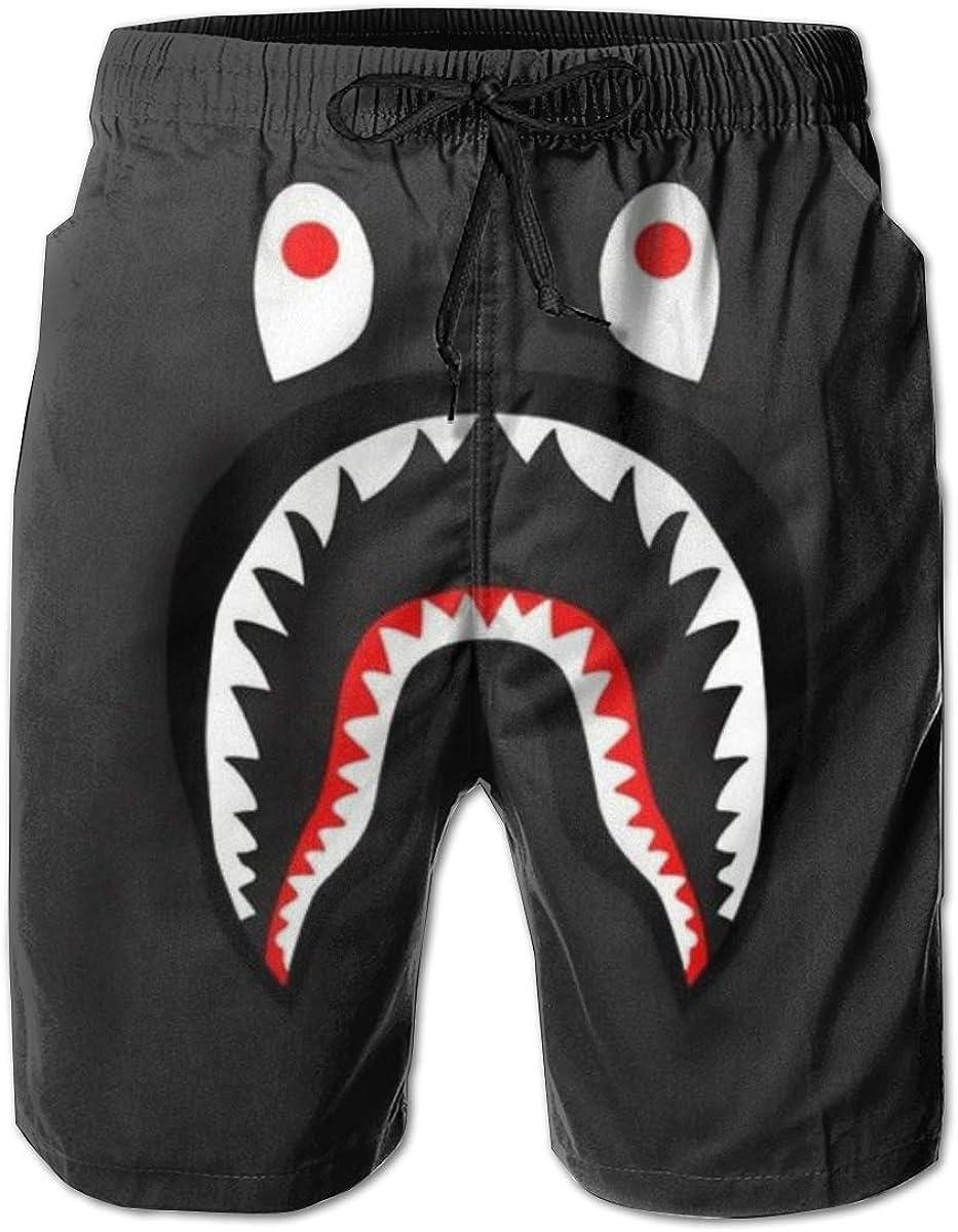 Bape Blood Shark Men's Camouflage Casual Track Pants Fashion Jogging Shorts Beach Shorts Track Pants