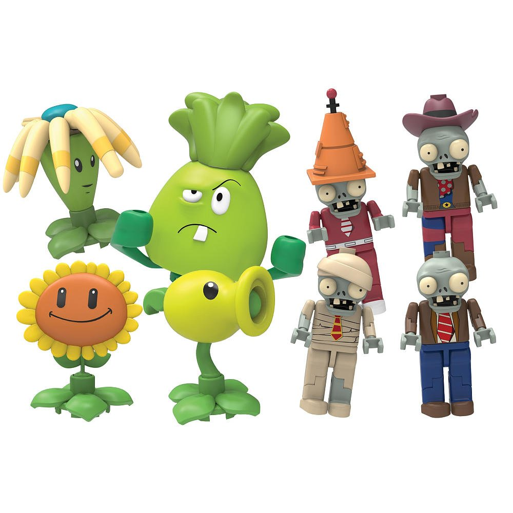 KNEX Plants vs. Zombies Figures, Series 1 by Other Manufacturer