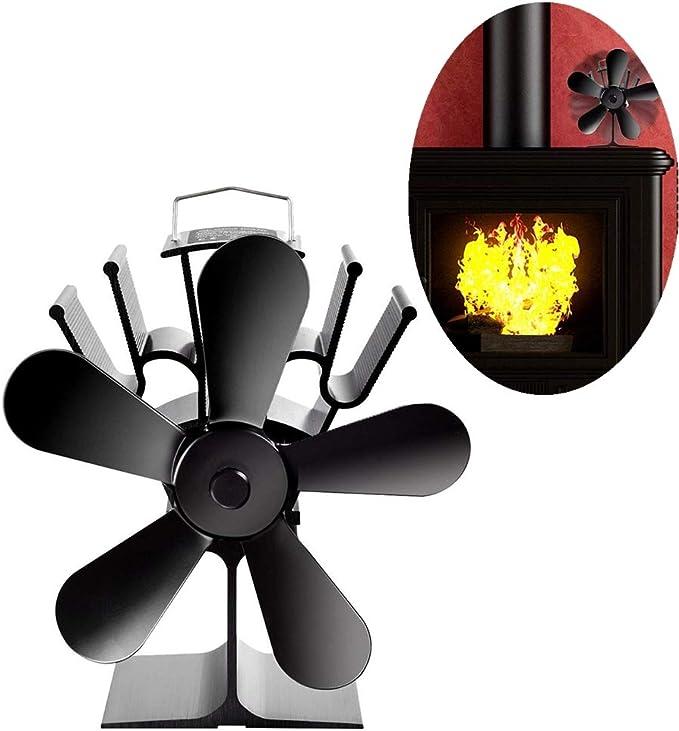 Avarp Ventilador silencioso para chimenea, sin electricidad ...