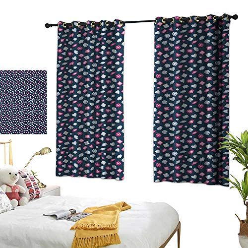 Lace Curtain Marquise - Bedroom Curtains W63