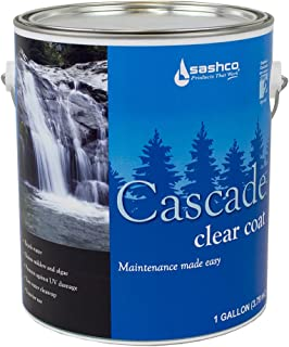 product image for Sashco CAS1CL Clear Cascade Exterior Weather Repellent, 1 gal Can