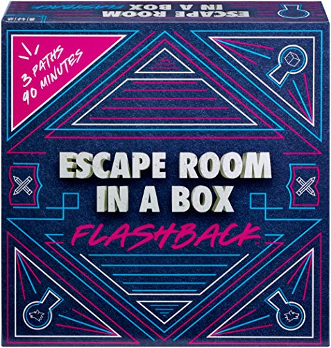 Mattel Games Escape Room in A Box: Flashback Game