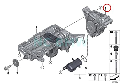 Amazon com: BMW Genuine Oil Pump: Automotive