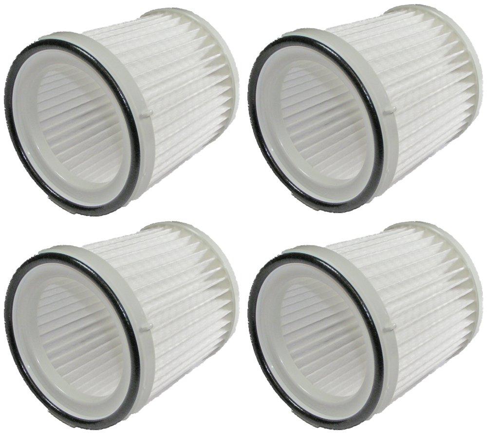 Black & Decker BDH2000FL / FHV1200 Vacuum (4 Pack) Replacement Filter FVF100 # 90529367-4pk by Black & Decker