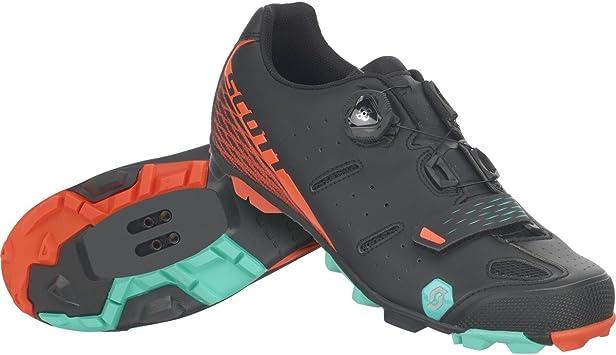Scott Elite Boa - Zapatillas para bicicleta de montaña, color negro y ...