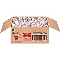 Carnation Half and Half Liquid Creamer Singles, 180 Count