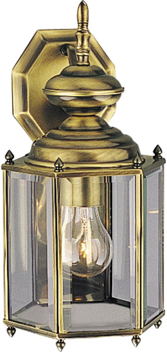 Progress Lighting P5832-11 Med Wall Ranking Max 80% OFF TOP17 Lantern 1-100-watt