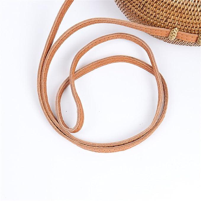 9c0fa8e9df62 Amazon.com: ULVMHFNH Rattan Bag Designer Beach Bags For Women Straw ...