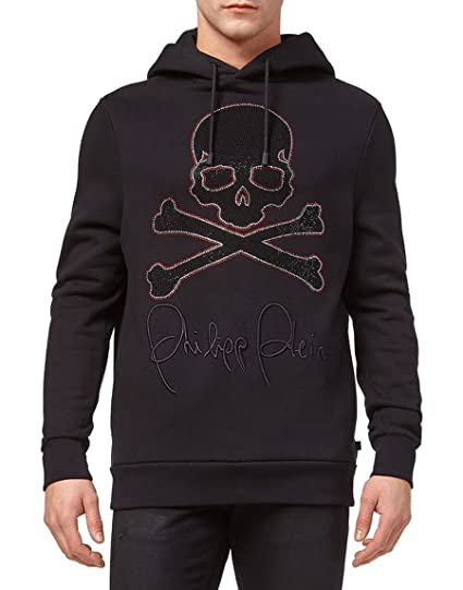 af5d6575e17e6f Philipp Plein Hoodie Sweatshirt Skull: Amazon.co.uk: Clothing