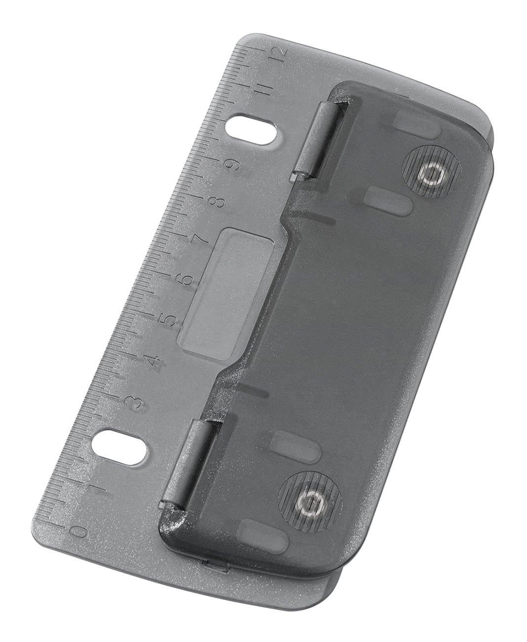 Wedo 067812 Perforatore Tascabile, 8 cm, Grigio