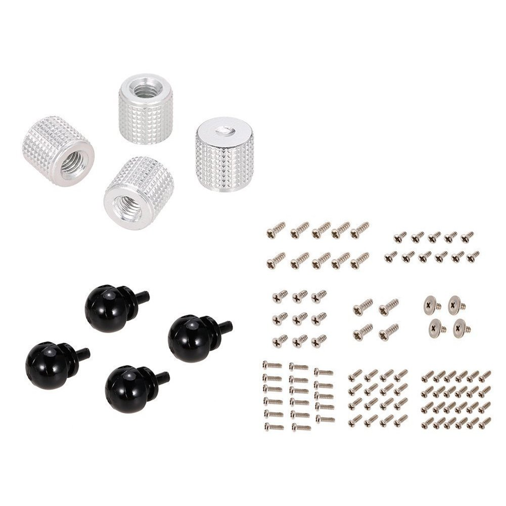 SODIAL(R) Damping Pads & Propeller Cover & Screw Pack for MJX B2C B2W Bugs 2 GPS Quadcopter Drone Spare Part 130591