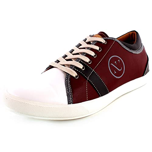 Synthetic Leather Derby Casual Shoes
