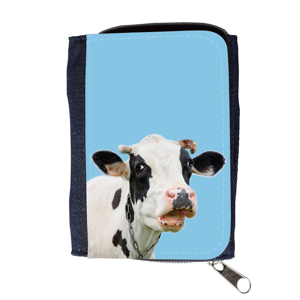 GoGoMobile Cartera para Hombre // Q05710609 Vaca Curiosa ...