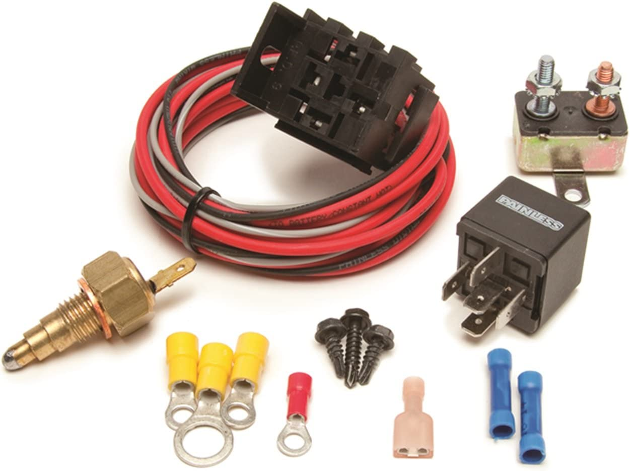 [SCHEMATICS_4FD]  Amazon.com: Painless Performance 30106 Electric Fan Relay Kit with  Thermostatic Switch for Gen III and up GM Engines (On 205/Off 190):  Automotive | Gm Fan Wiring |  | Amazon.com