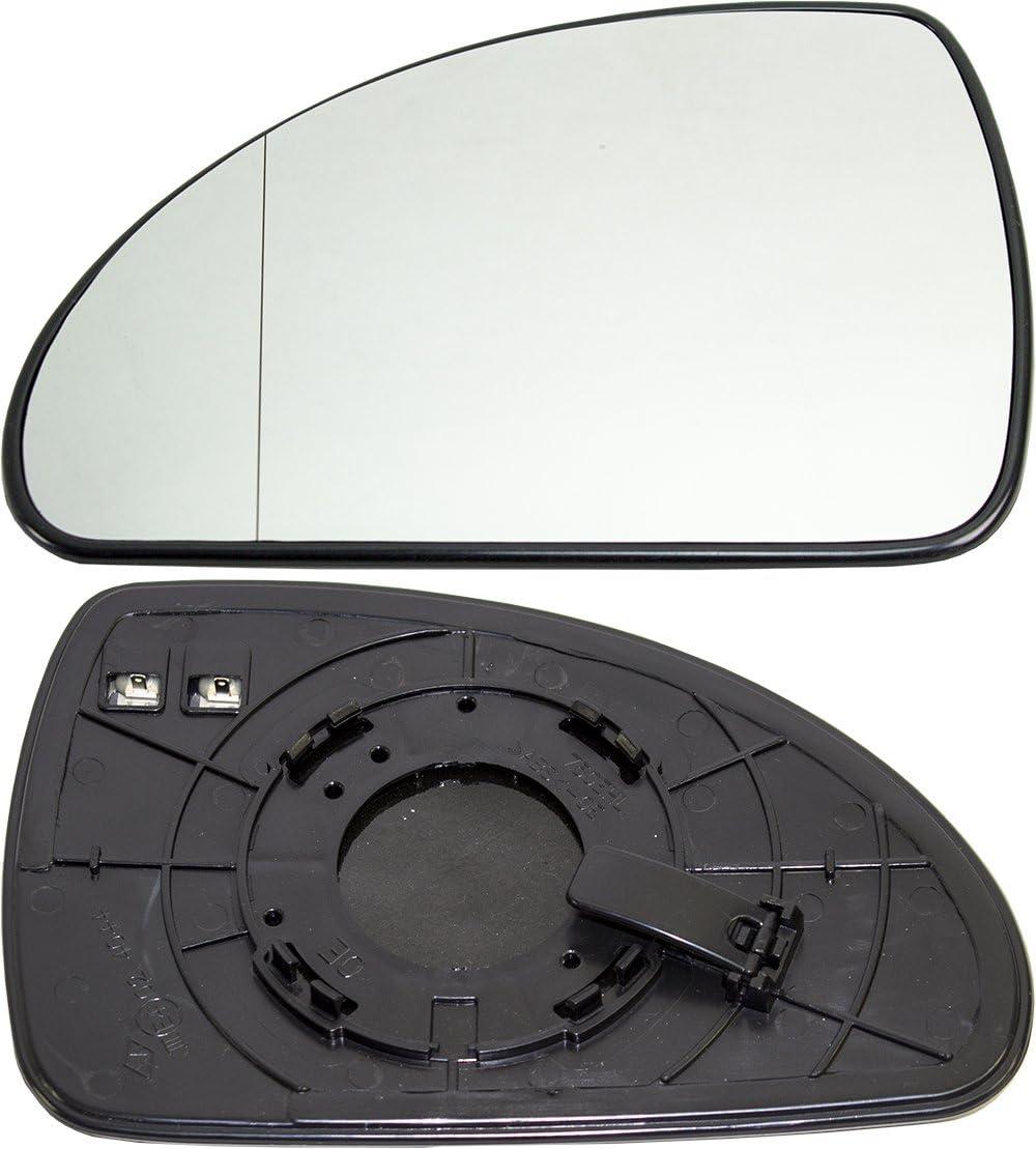 TarosTrade 57-0390-L-46538 Spiegelglas Heizbar Links