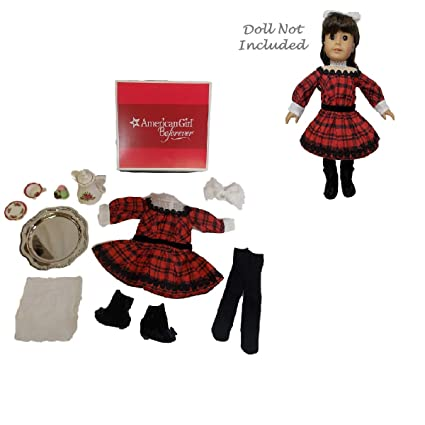 abdcc0d3a2 Amazon.com  American Girl Samantha s Holiday Outfit   Tea Accessories Set  For Doll (Doll is not included)  Toys   Games