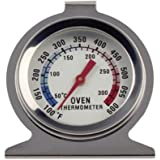 Oven thermomete,Precision Stainless Steel Oven Monitoring Thermometer,Home Kitchen Thermometer,Hang or Stand in Oven