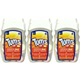 Tums Indegestion Relief Fruit Antacid 75 Tablets x 3 Packs