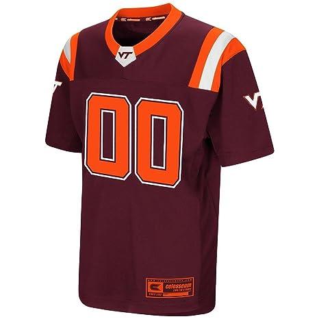sale retailer d02d5 073e9 Colosseum Youth Virginia Tech Hokies Football Jersey