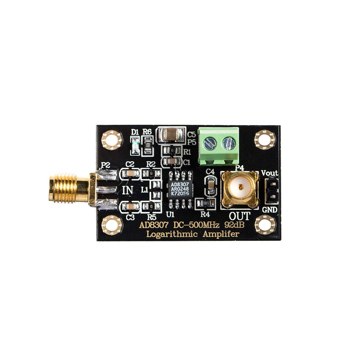 nobsound ad8307 RF Power Detector Module Logarithmic ...