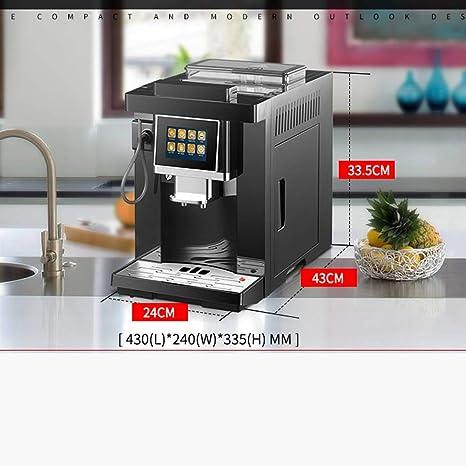 Amazon.com: Máquina de café automática pantalla táctil ...