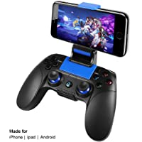 Controller Mobile Senza Fili PowerLead PG8718 per PUBG, Gamepad Wireless Supporto for iOS Android iPhone iPad Samsung Galaxy Altro telefono