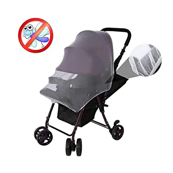 Cradles Swity Home 2 Pack Baby Mosquito Net for Strollers White Car Seats