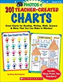 201 Teacher-Created Charts: Easy-to-Make, Classroom-Tested Charts That Teach Reading, Writing, Math, Science & More!: Grades K-2