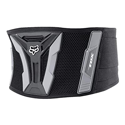 Fox Racing Turbo Adult Kidney Belt Motox/Off-Road/Dirt Bike Motorcycle Body Armor - Black/Grey/X-Large: Automotive