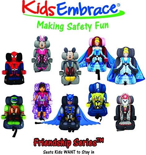 Amazon KidsEmbrace Booster Car Seat Backless DC Comics Batman Baby