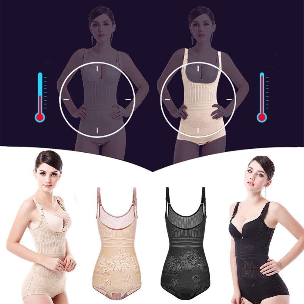 Oubaybay Shapewear Tummy Control Seamless Bodysuit Waist Trainer for Women