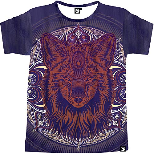 Electrik Unicorn Cool Shirts for Men Vibrant Print EDM Clothing Trippy Animal Zodiac Shirt (This Fox Lit AF, Large) (Only The Best Edm)