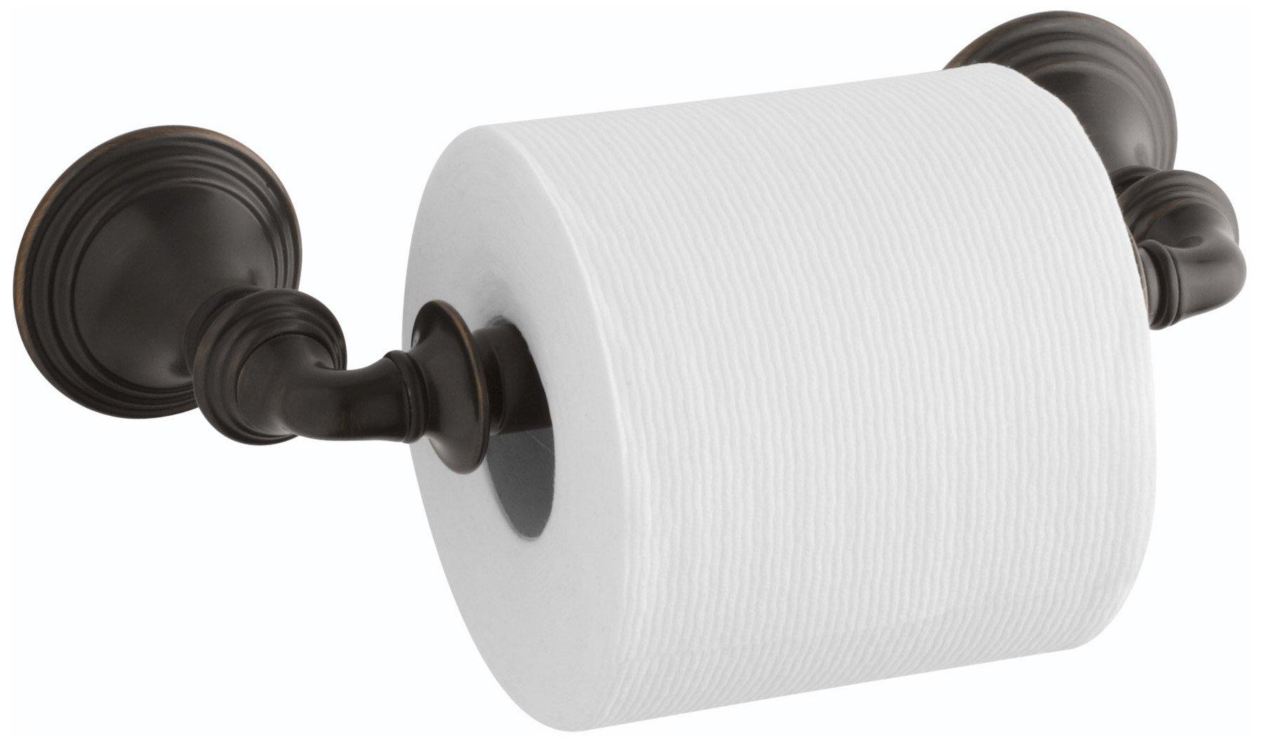 Kohler K-10554-2BZ Devonshire Toilet Paper Holder, Oil Rubbed Bronze