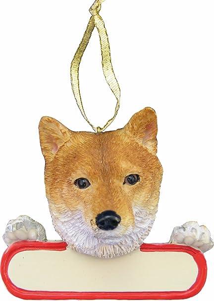 Amazon.com: Shiba Inu Dog Santa's Pal Christmas Ornament: Pet Supplies