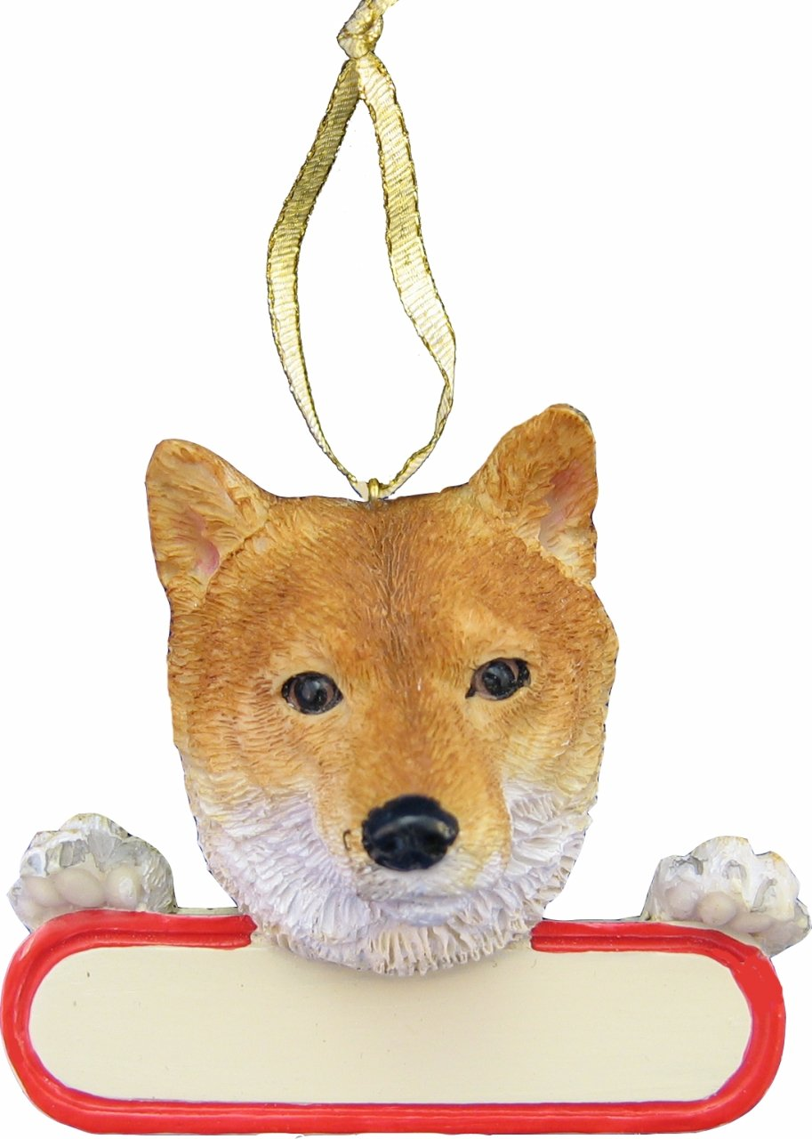 Shiba Inu Dog Christmas Tree Ornaments